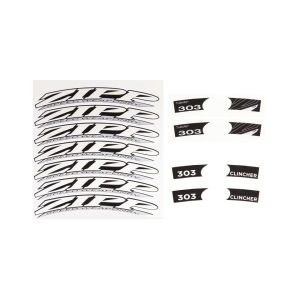 Zipp Wheel Decal Set - 303 44mm Rim Depth