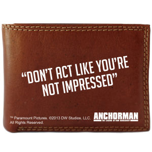 Anchorman Wallet and Moustache Set