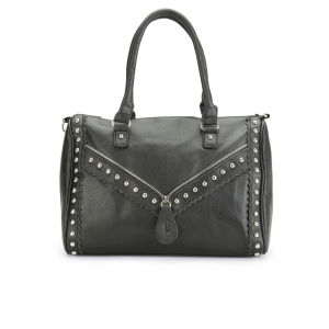 Thomas Calvi Women's Rose Shopper - Black