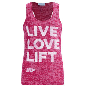 Camiseta de Tirantes Myprotein Burnout para Mujer - Rosa