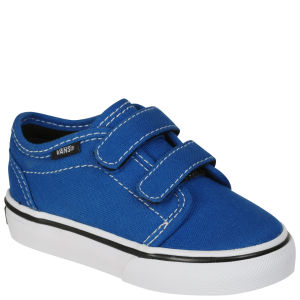 Vans Toddlers' 106 Vulcanised Canvas Trainers -  PrincessBlue/Black