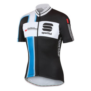 Sportful Gruppetto Team Jersey - Black/Blue