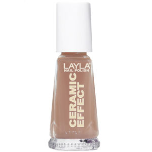 Layla Cosmetics Ceramic Effect Nail Polish N.19 Capuccino (10ml)