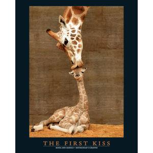 First Kiss - Mini Poster - 40 x 50cm