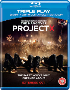 Project X - Triple Play (Blu-Ray, DVD and UltraViolet Copy)