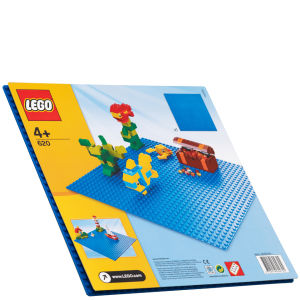 LEGO Bricks and More:  Blue Building Plate (620)