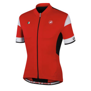Castelli Men's Fuga Full Zip Cycling Jersey