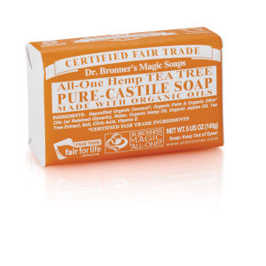 Dr. Bronner Organic Tea Tree Castile Liquid Soap (945ml)