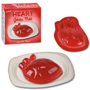 Heart Jelly Mould