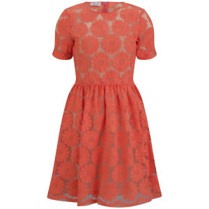 Baum und Pferdgarten Womens Habika Dress - Orange