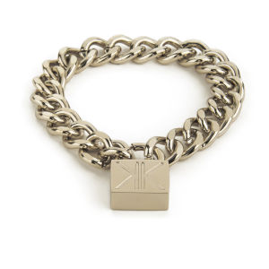 Kardashian Kollection Padlock Bracelet - Gold