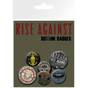 Rise Against Shaking Hands Badge Pack 10 x 15cm