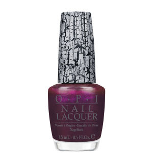 OPI Nicki Minaj Purple Shatter Coat Nail Lacquer (15ml)