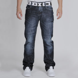 Crosshatch Men's Hornet Jeans - Dark Wash