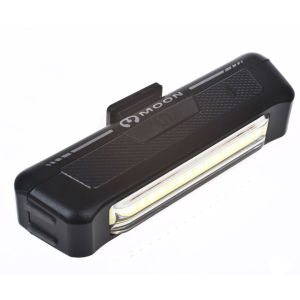 Moon Comet  USB Front Light Black