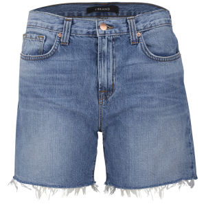 J Brand Women's Low Rise Drew Cut Off Shorts - Stellar
