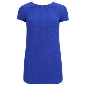 Influence Women's Textured Tunic Dress - Cobalt