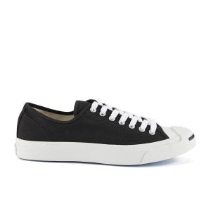 Converse Jack Purcell LTT Canvas Trainers - Black/White