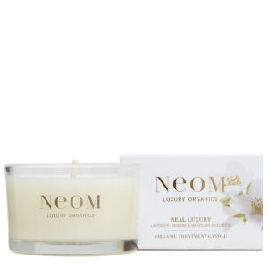 Neom Organic Mini Treatment Candle - Real Luxury: Pamper (75g)