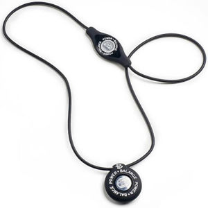 Power Balance -The Original Performance Pendant   Black With White Lettering