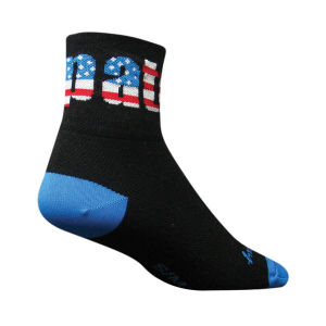 SockGuy Patriot II Cycling Socks