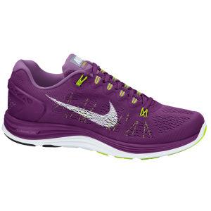 Nike Women's Lunarglide + 5 Running Shoes - Bright Grape