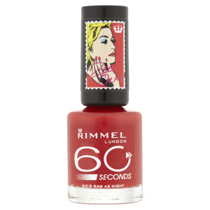 Rita Ora for Rimmel London 60 Seconds Nail Polish - Raw As Night