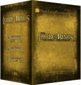 The Lord Of The Rings: Extended Edition Trilogy [12 Discs]