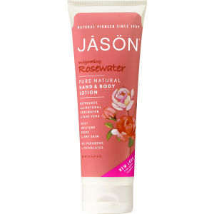 JASON Invigorating Rosewater Hand & Body Lotion 227g