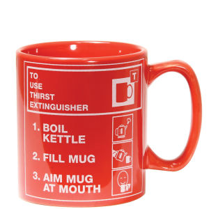 Thirst Extinguisher Mug