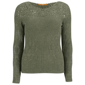 BOSS Orange Women's Irestincrafted Knitwear - Khaki