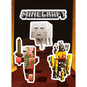 Minecraft Monsters - Vinyl Sticker Pack