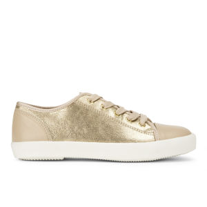KG Kurt Geiger Women's Libby Leather Trainers - Nude