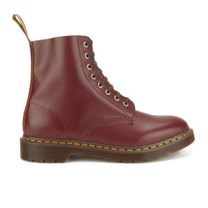 Dr. Marten's Men's Archive Pascal 8-Eye Leather Boots - Oxblood Vintage Smooth