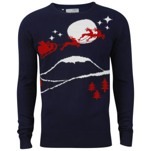 Brave Soul Men's Dasher Jumper - Navy