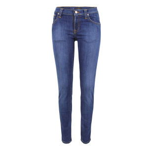 Nudie Women's Tight Long John Skinny Jeans - Tight Flat Denim