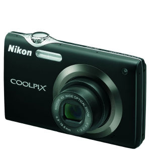 Nikon S3000 Digital Camera - Black (12MP, 4x wide Optical Zoom) 2.7 Inch LCD - Grade A Refurb