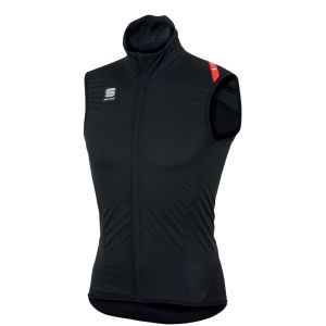 Sportful Fiandre Light No Rain Gilet - Black/Red