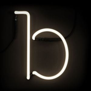 Seletti Neon Wall Light - Letter B