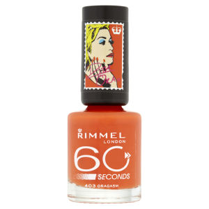 Rita Ora for Rimmel London 60 Seconds Nail Polish - Oragasm