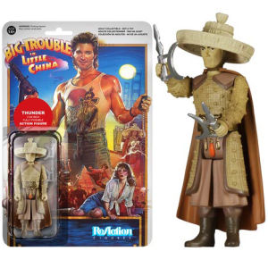ReAction Big Trouble in Little China Thunder 3 3/4 Inch Action Figure