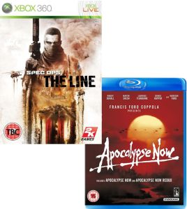 Spec Ops: The Line With Apocalypse Now / Apocalypse Now Redux Blu-ray  Bundle