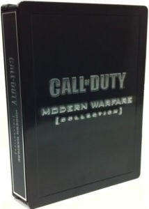 Xbox 360 Call of Duty: Modern Warfare Steelbook Collection Tin (Games Not Included)