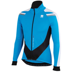 Sportful Men's Alpe Softshell Jacket - Blue/Black/White