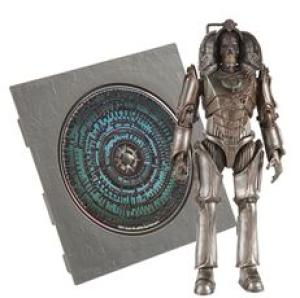 Dr Who Pandorica 5 Inch Action Figure and Audio MP3 CD Collection Cyberman