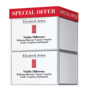Elizabeth Arden Visible Difference Moisturising Duo (2 x 75ml)