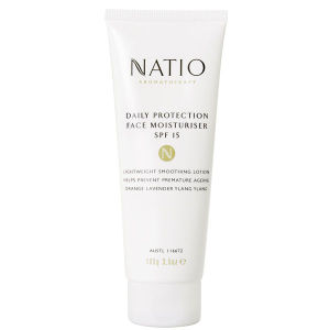 Crema hidratante facial Spf15 Natio Daily Protection (100g)