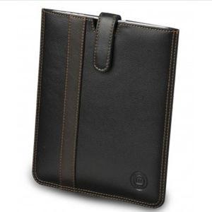 dbramante1928 Leren Beschermhoes voor de iPad 2, 3, en 4 - Zwart Geribbeld