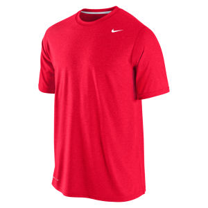 Nike Men's Poly SS Tee - Gym Red