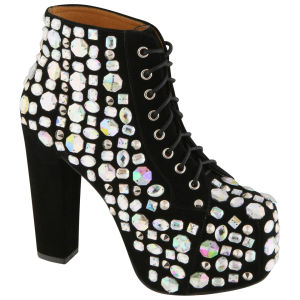Jeffrey Campbell Women's Lita Royal Boots - Black